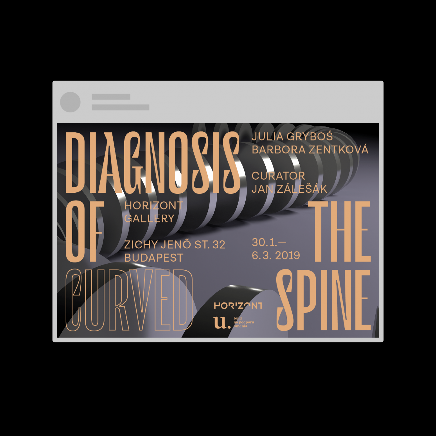Diagnosis of the curved spine social media