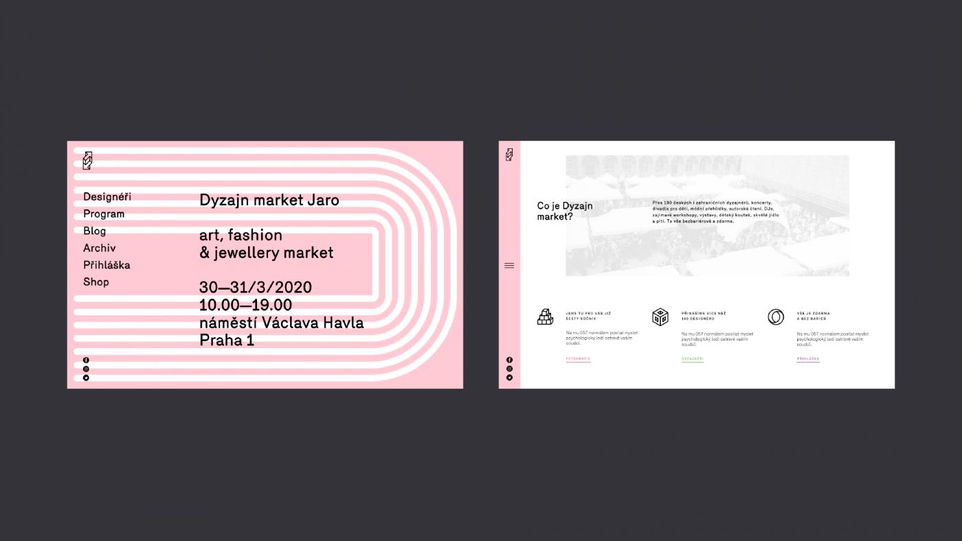 Dyzajn market domů a úvod